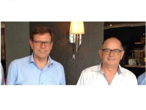 Michèl Evers en Dick Broekhuis
